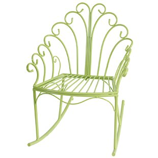 Bungalow Rose Brookdale Patio Rocking Chair