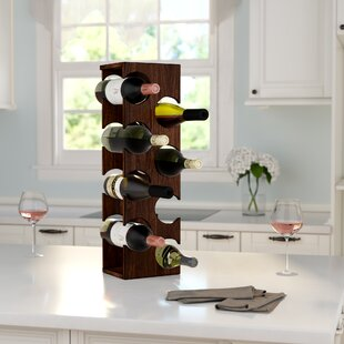 Benally 8 Bottle Tabletop Wine Rack