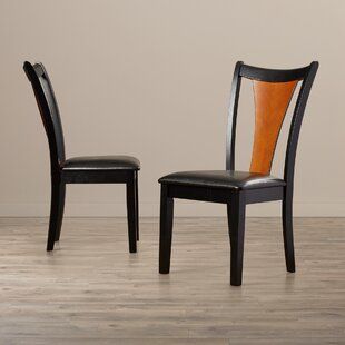 Kayla Upholstered Dining Chair (Set of 2) Bloomsbury Market
