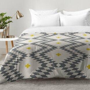 East Urban Home Native Natural Plus Comforter Set