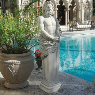 Design Toscano Jupiter Garden Terminus Statue