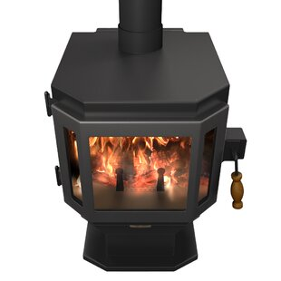 Catalyst 2000 Sq. Ft. Direct Vent Wood Stove By MF Fire
