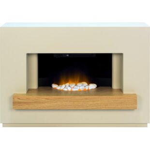 Aidy Electric Fireplace By Metro Lane
