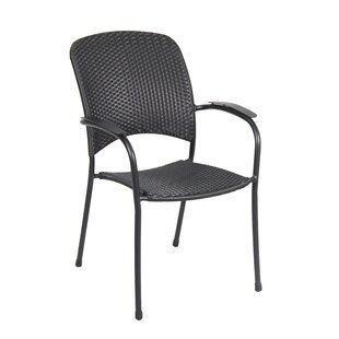 Capetown Stacking Patio Dining Chair (Set of 4)