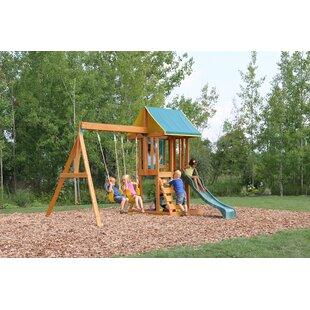 Leton Wooden Swing Set