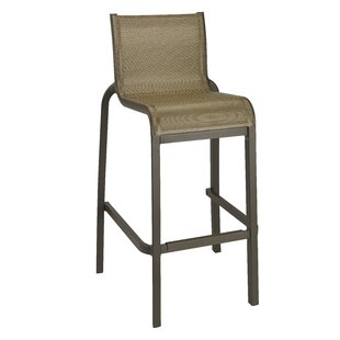 Leighann Armless 31 Bar Stool (Set of 2)