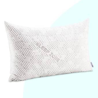 Sealy Evercool Medium Down Alternative Jumbo Cooling Bed Pillow Reviews Wayfair