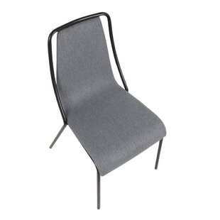 Beckenham Contemporary Upholstered Dining Chair (Set of 4) Ebern Designs