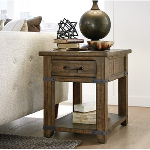 Che End Table by Rosalind Wheeler