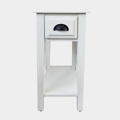 Rustic White End Amp Side Tables You Ll Love In 2019 Wayfair