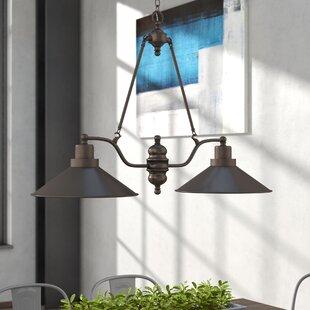 Trent Austin Design Schaff 2-Light Kitchen Island Pendant