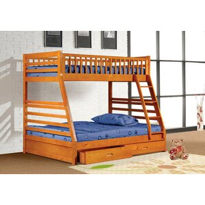 Alyce Twin over Full Bunk Bed with Drawers by Harriet Bee