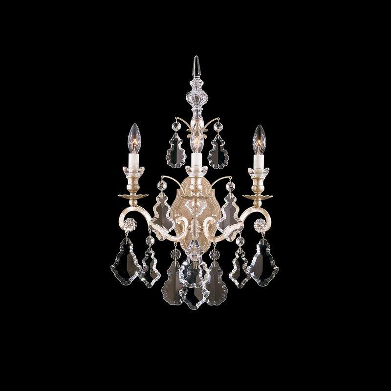 Versailles 3-Light Candle Wall Light