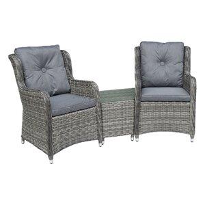 2-Sitzer Loungemöbel-Set Seville von Glencrest Seatex