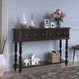 Wilburg 48.03 Solid Wood Console Table by Charlton Home®