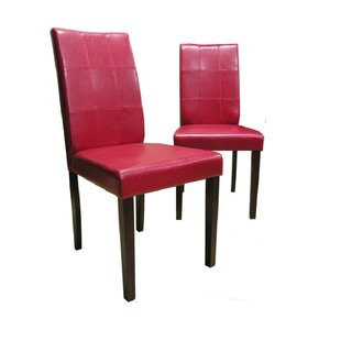 Evellen Upholstered Dining Chair (Set of 2) Warehouse of Tiffany