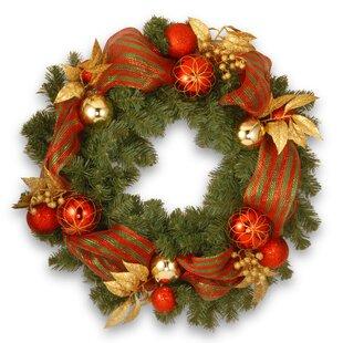 Decorative 76cm Fir Wreath Image