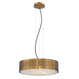 Bloomsbury Market Roesch 6-Light Drum Pendant