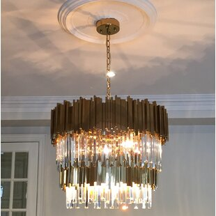Gains 12-Light Novelty Chandelier by Everly Quinn