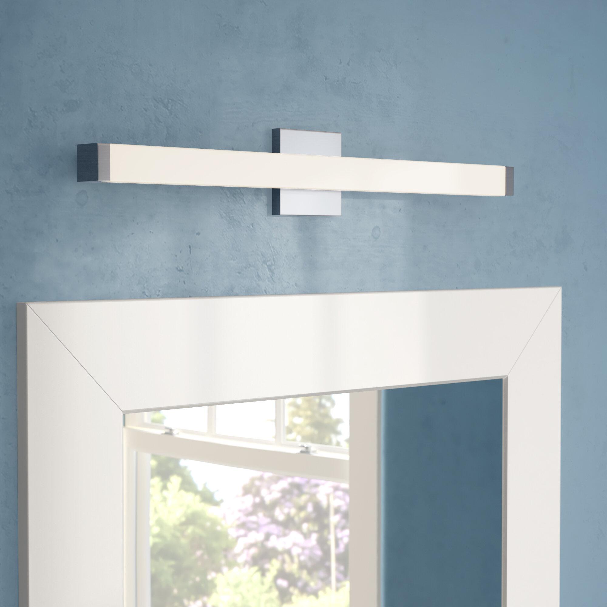 Ebern Designs Lavenia 1 Light Dimmable Led Bath Bar Reviews Wayfair