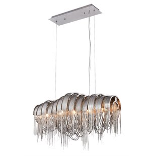 Everly Quinn Veta 5-Light Kitchen Island Pendant