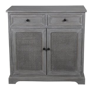 Oberlin 2 Drawer 2 Door Storage Cabinet by Rosecliff Heights