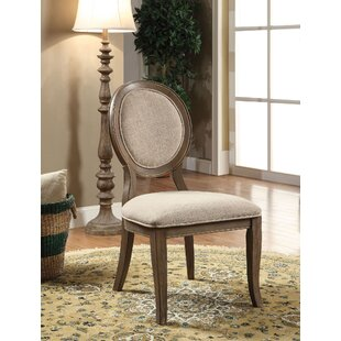 Updike Upholstered Dining Chair (Set of 2) Ophelia & Co.