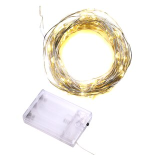 The Holiday Aisle Kates 9.5 ft. 30-Light Novelty String Lights
