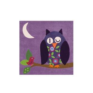 Joy Handwoven Flatweave Violet Rug by Kayoom