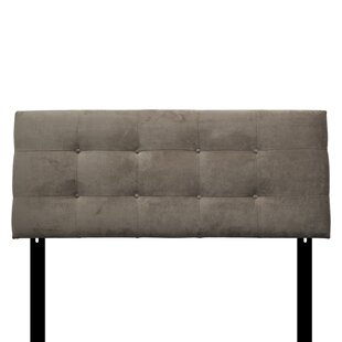 Best Ali Eastern King Upholstered Panel Headboard by Sole Designs