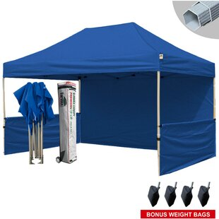 Eurmax Premium 10 Ft. W x 15 Ft. D Metal Pop-Up Canopy