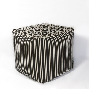 Hillside Groove Pouf Ottoman by Red Barrel S..