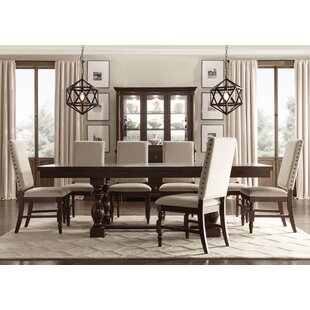 Dublin 7 Piece Dining Set Three Posts