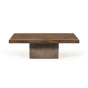 Boutin Wooden Top Coffee Table