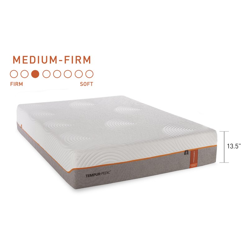 Tempur Contour Luxe Breeze Cooling 13 5 Firm Tight Top Mattress