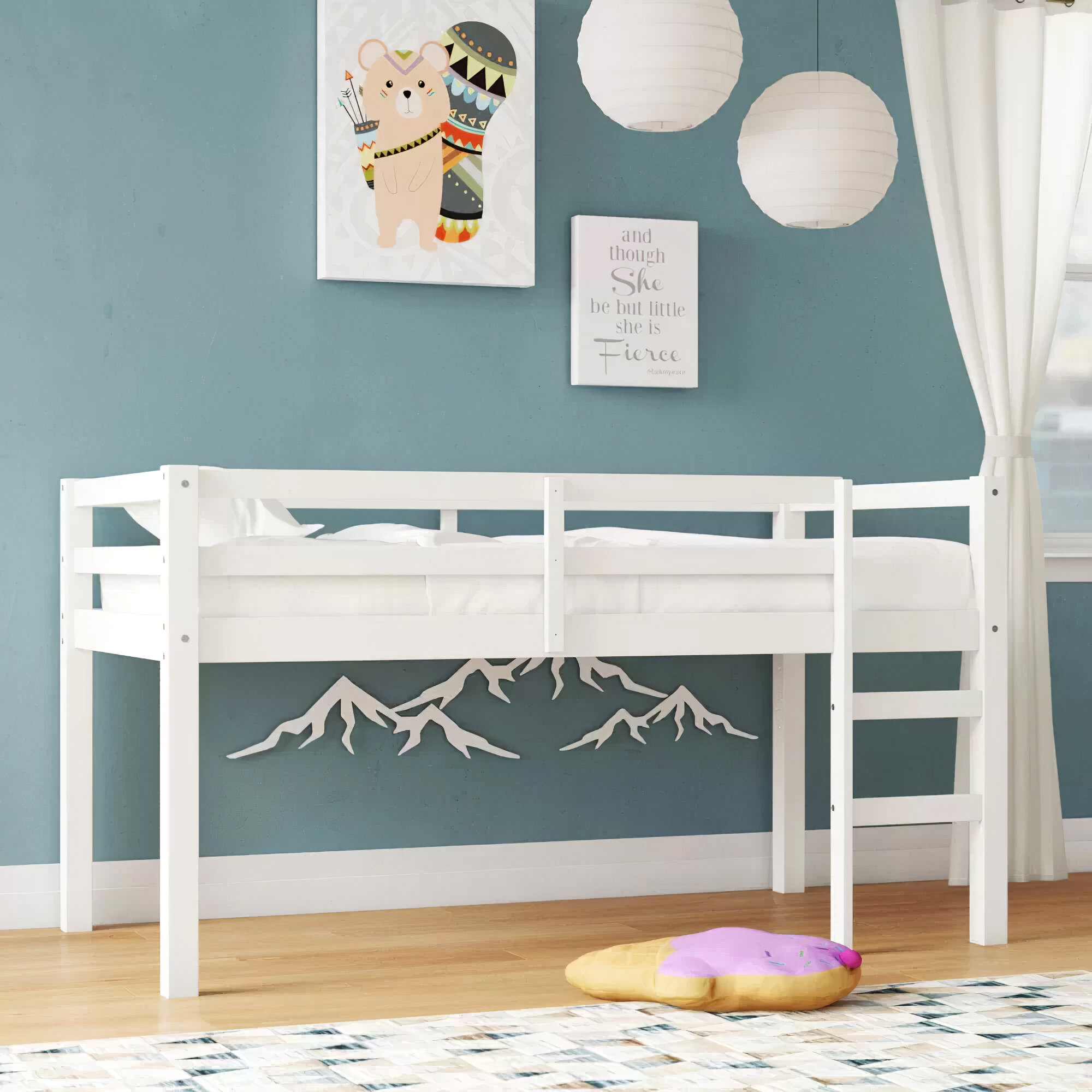 Picture of: Harriet Bee Schlemmer Twin Loft Bed Reviews