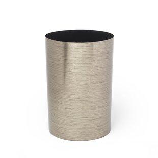 Umbra Metalla 4.5 Gallon Polypropylene Trash Can