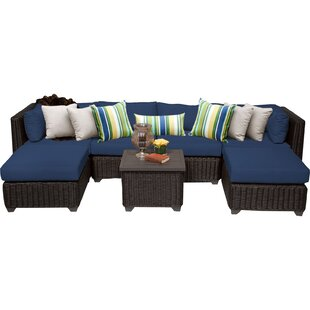 Fairfield 7 Piece Sectional Seating Group with Cushions