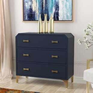 Whitchurch Clip Corner 3 Drawer Accent Chest by Willa Arlo Interiors
