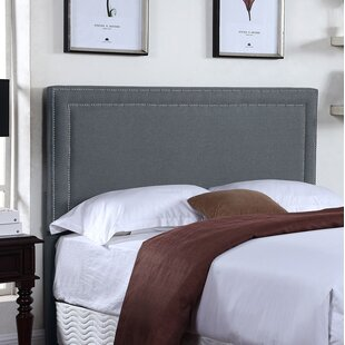 Nyasia Upholstered Panel Headboard by Charlton Home