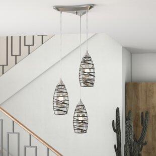 Goudy 3-Light Pendant by Brayden Studio