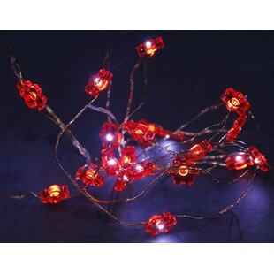 Burlington Copper Wire Flower Multi Function Novelty String Lights By The Seasonal Aisle