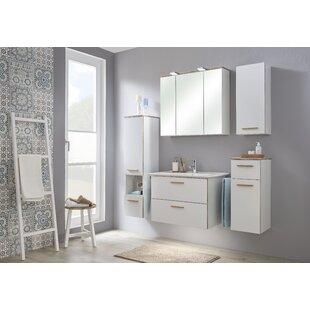 Burgas 6 Piece Bathroom Storage Furniture Set By Quickset