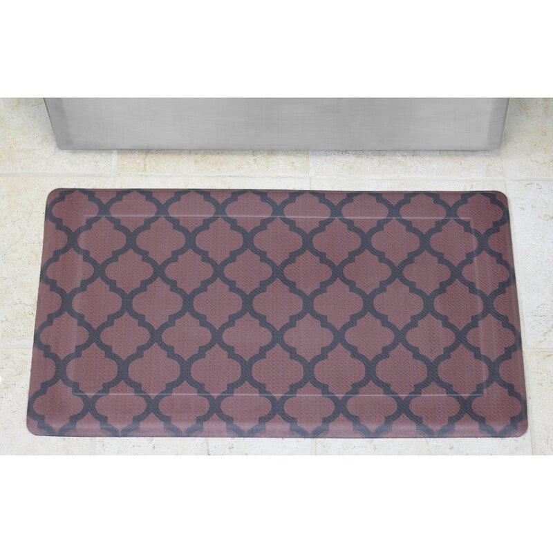 Kitchen Floor Mats Reviews: Chef Gear Comfort Quatrefoil Anti-Fatigue Kitchen Mat