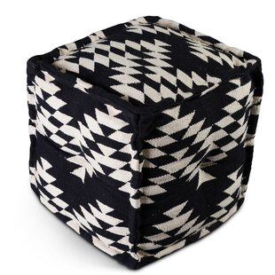 Brehmer Pouf by Union Rustic