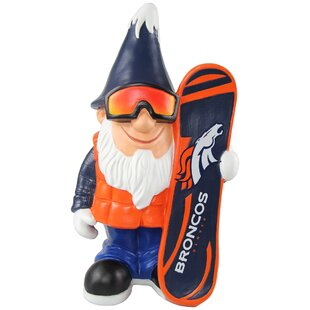 Denver Broncos NFL Caricature Garden Gnome Statue By Forever Collectibles