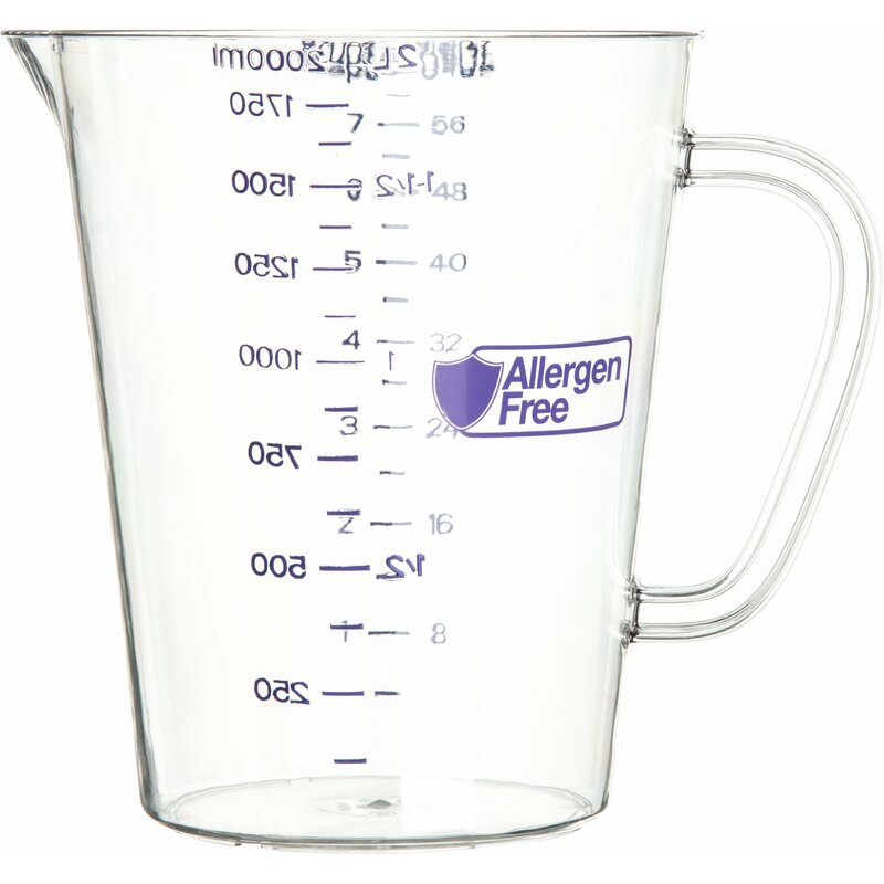 Carlisle Food Service Products 8 Cup Measuring Cup Wayfair