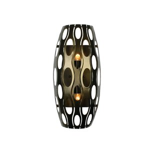 Affordable Augu 2-Light Tall Wall Sconce By World Menagerie