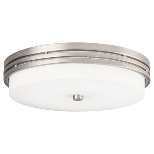 Latitude Run McKay 1-Light LED Flush Mount