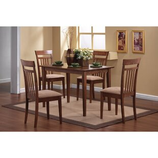 Claverley 5 Piece Solid Wood Dining Set